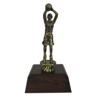 Antique Gold Basketball Female