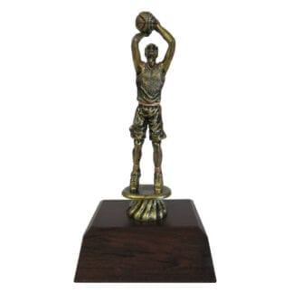 Antique Gold Basketball Male