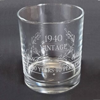 Winston Whiskey Glass