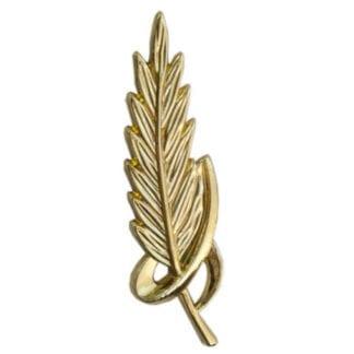 Gold Feather Trophy Trim