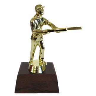 Skeet Shooter Male Figurine