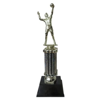 Male Volleyball Player Trophy