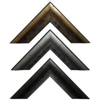 Rustic Metallic Picture Frame