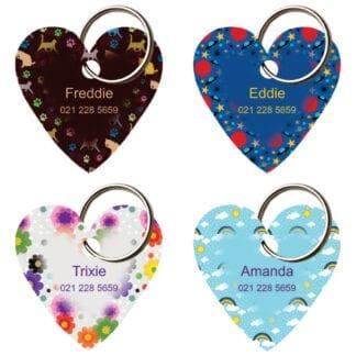 Designer heart tags