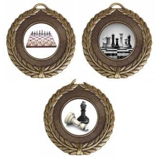25mm Insert Chess Medals